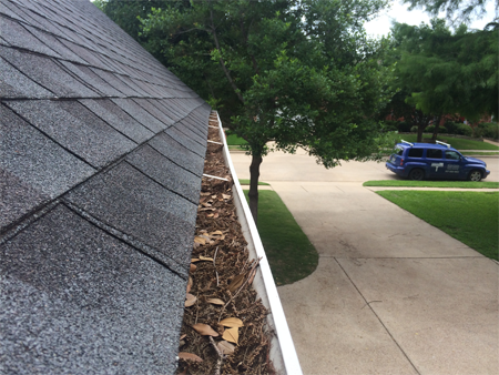 How often should I have my gutters cleaned?
