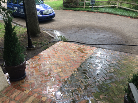 What are the advantages of pressure cleaning your home?